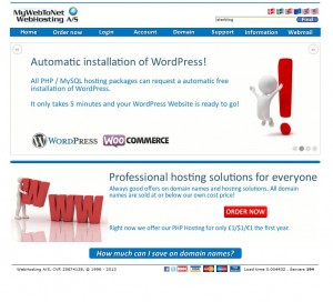 MyWebToNet Home Page 'starblog'